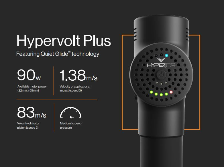 Hyperice Hypervolt Plus Bluetooth Percussion Massager | DICK'S Sporting  Goods