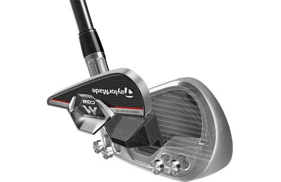 TaylorMade M CGB Irons: Geocoustic Technology