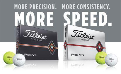 NEW Titleist Pro V1 + Pro V1x - Comparison