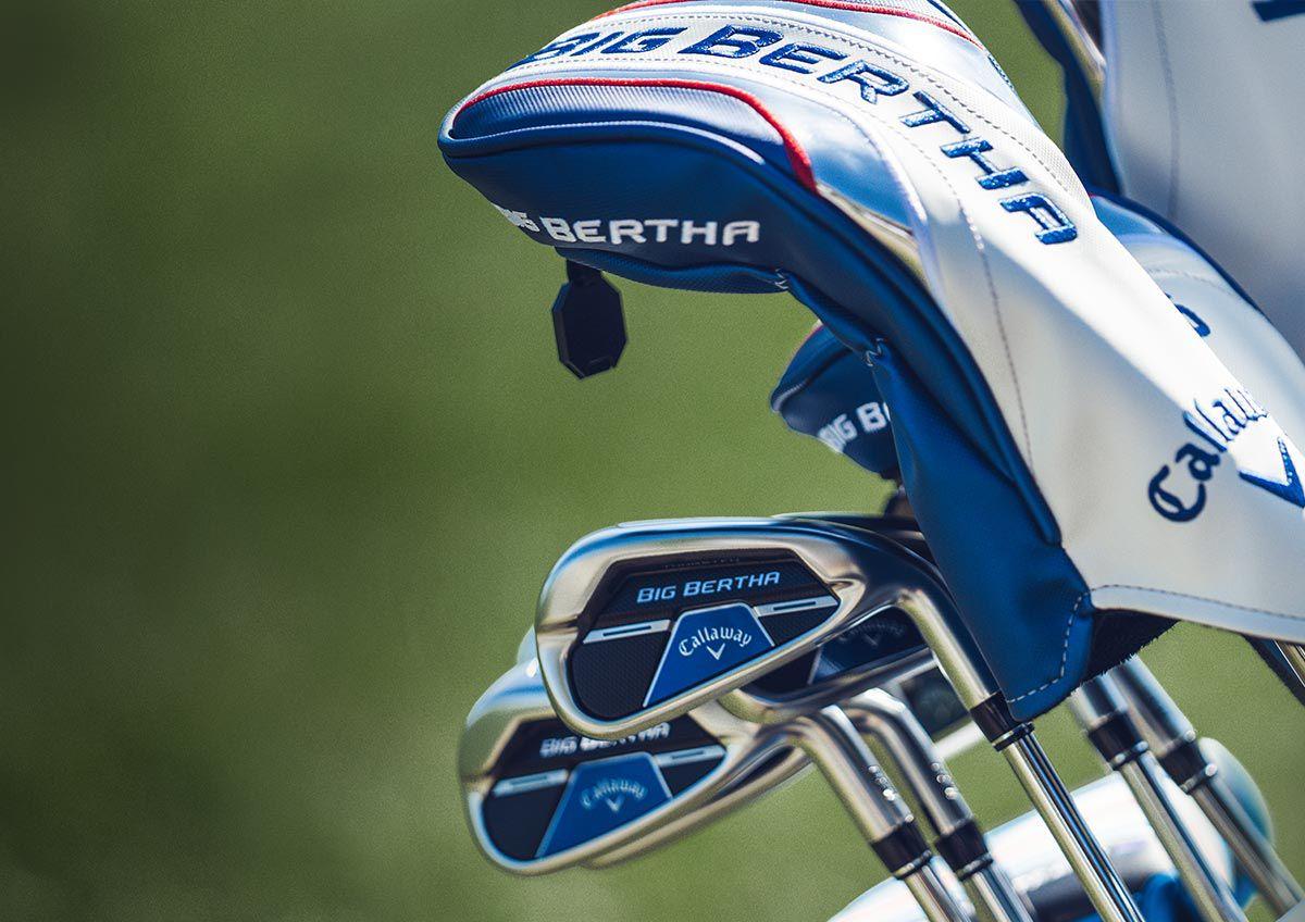 An Image Of Callaway Big Bertha B21 Golf Clubs