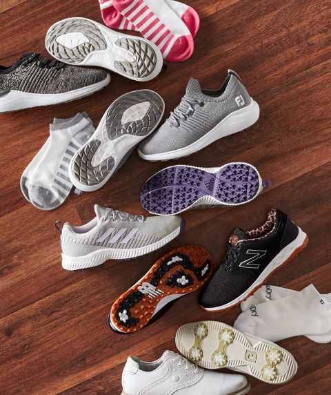 Various Styles Of Women's Golf Shoes