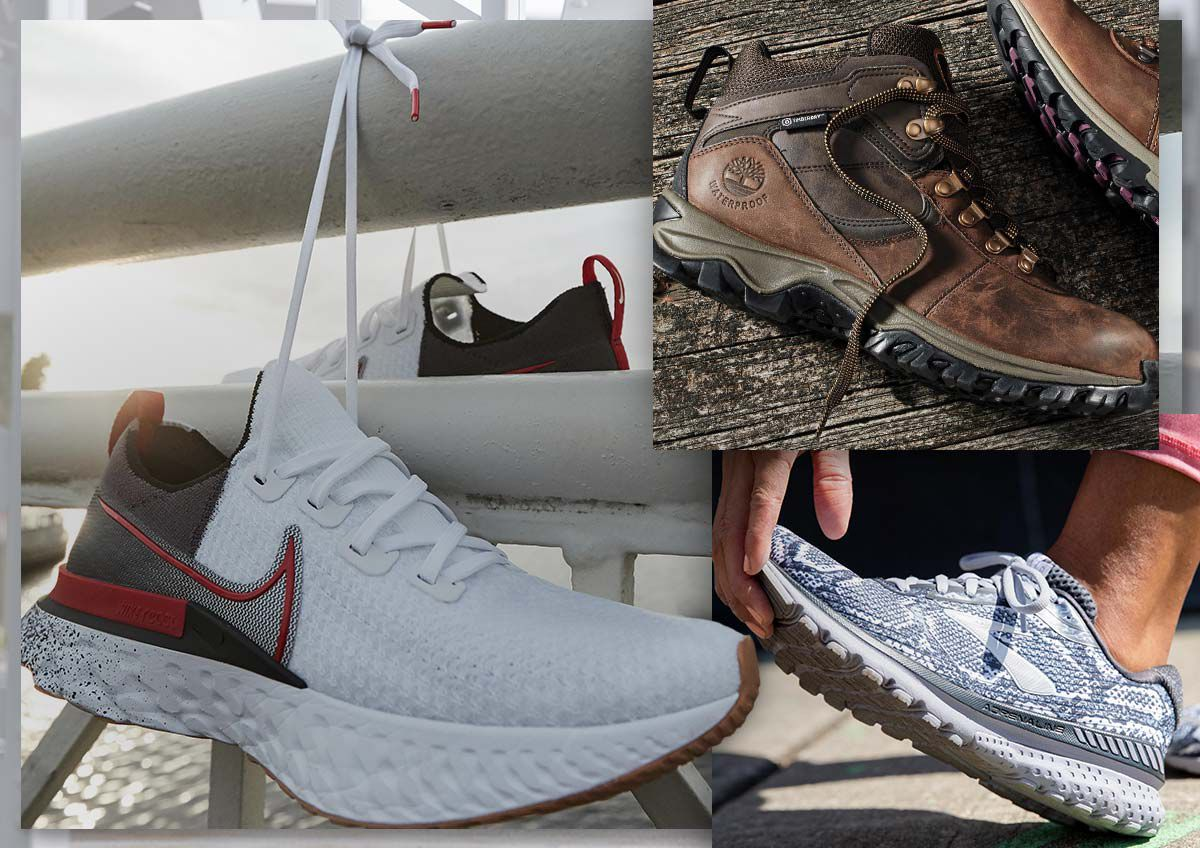 Image features stylish footwear for less.