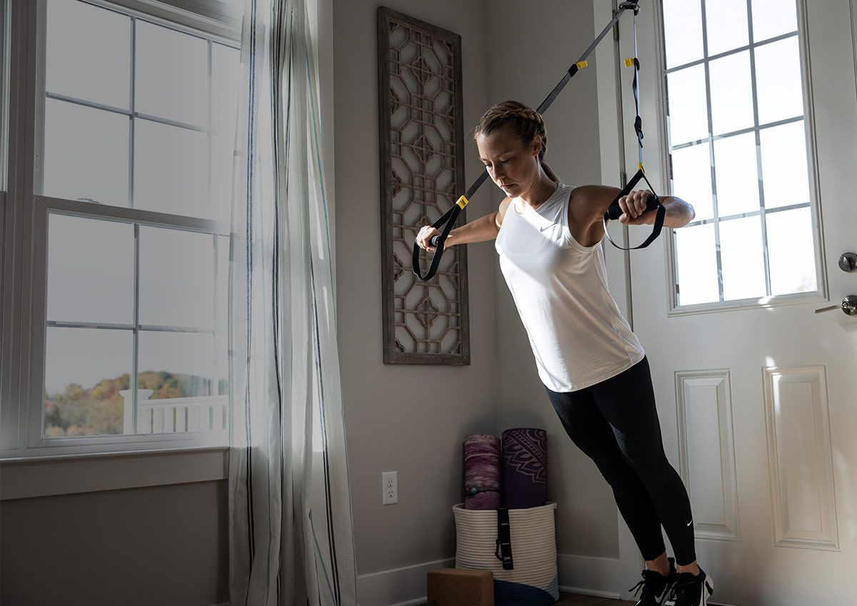 Image features the latest fromTRX training.