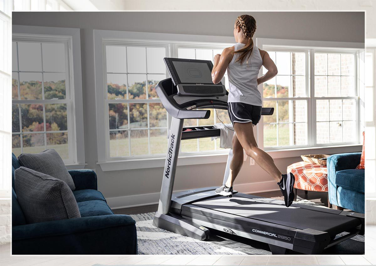 Image features connected cardio equipment