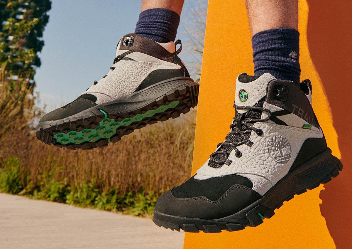 Timberland Garrison Hiking Boots.