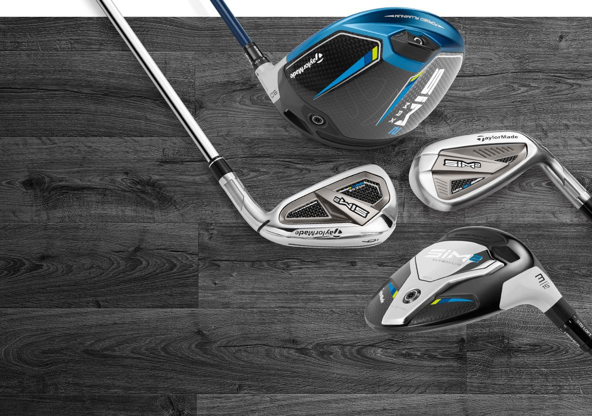 An Image Featuring TaylorMade SIM2 Golf Clubs