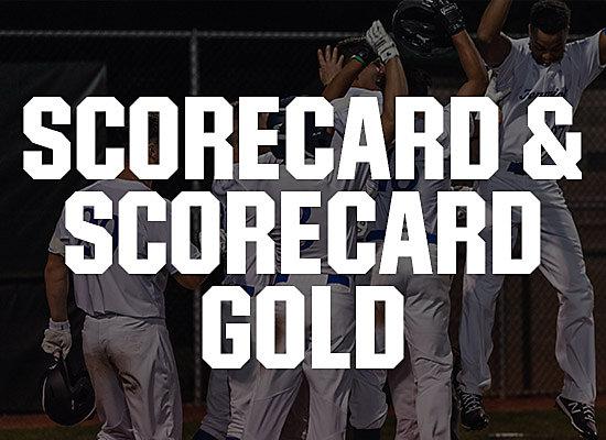 Scorecard and scorecard gold
