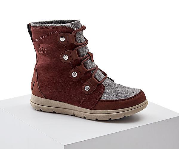A Sorel boot.