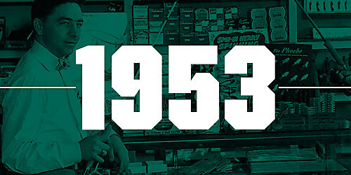 An images featuring the numbers 1953