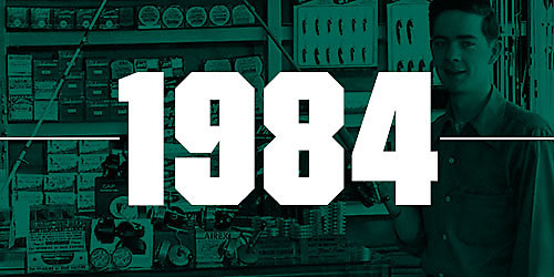 An image featuring the numbers 1984