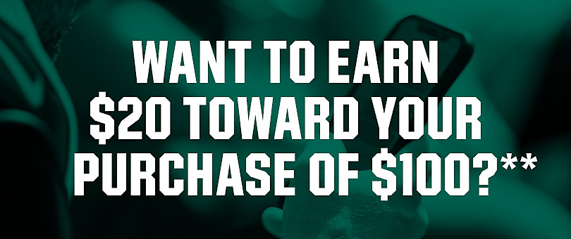 Want $20 Off $100?**