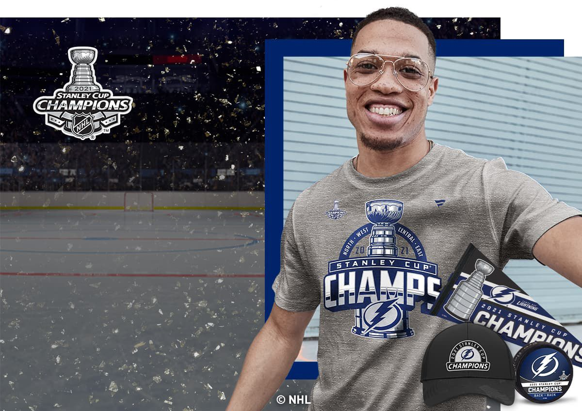 Image shows official championship team gear.