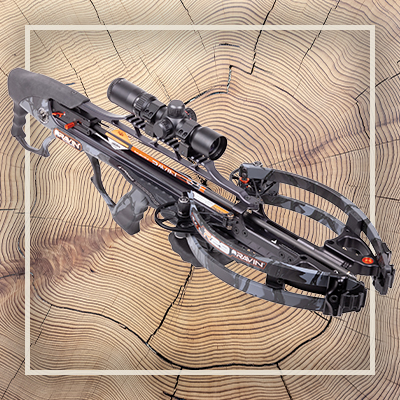 Product image of a Ravin crossbow.