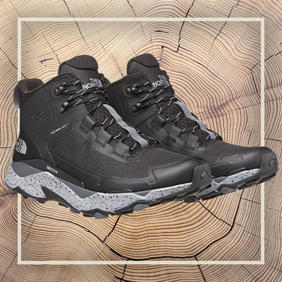 Product image of The North Face hiking boots.