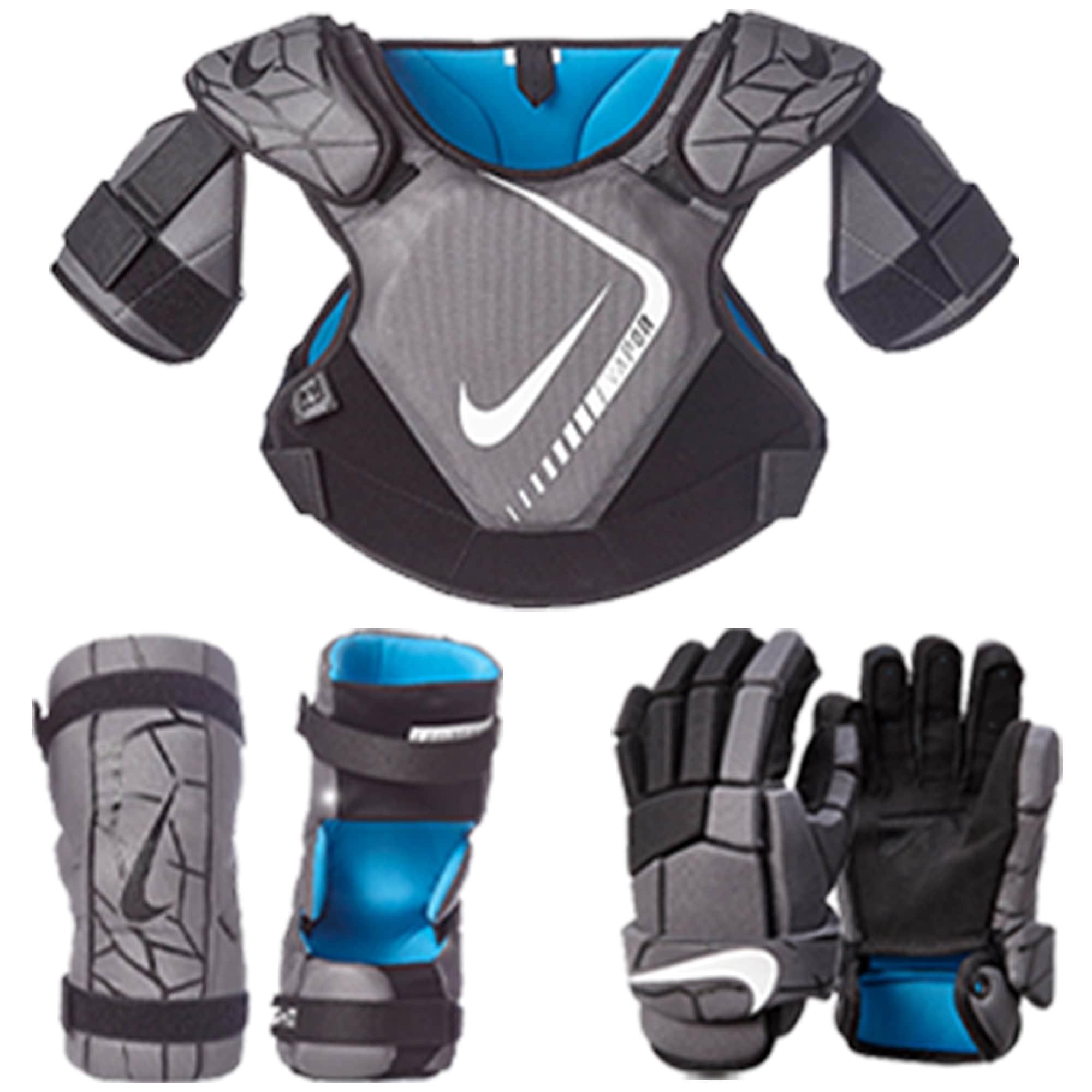 Nike 3-Piece Vapor LT Lacrosse Bundle